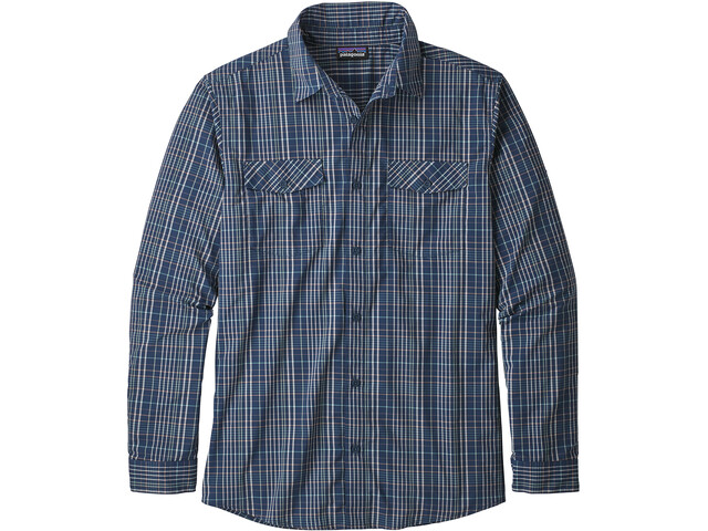 Patagonia High Moss Shirt Men boscage/stone blue